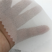 40gsm of woven fusible interlining interfacing fabric for garment by warp knitting machine manufacturers
