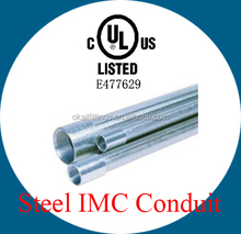 UL listed Hot-dipped Galvanized Steel IMC Conduit Pipe