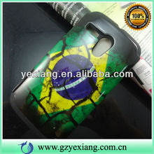 Best Custom Cheap Cover Case For Moto G 2 In 1 Brazilian Flag Skin Case