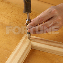 Picture Frame Nailer with UNI Common Wire V-Nail Driver