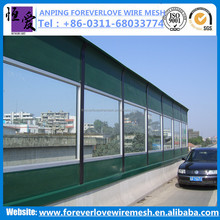 Factory sale Railway/Subway/Highway/Metal /Custom Noise Barrier/Sound Absorbing Wall