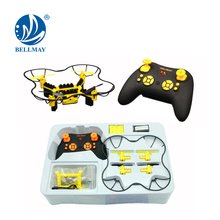 DIY Building Block RC Drone Kit 2.4 GHz 4 Channel 6 Axis Gyro With Wifi Control