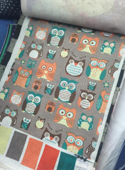 animal printing polyester fabric for school bags