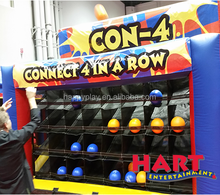inflatable Giant 4 in row games for event connect four game