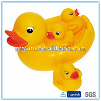 Competitive water rubber toy duck