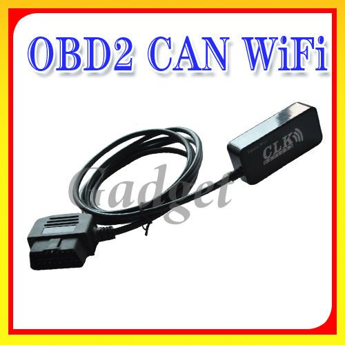 OBD-II CAN WiFi Interface for iPhone & WiFi PCs universial auto car scanner