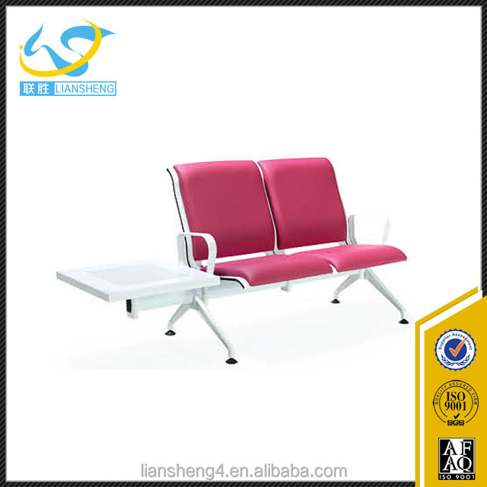 Hot Sale Cheap Pink Airport Bench Waiting Room Chairs Used