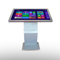 3g wifi full hd free standing 42 inch touch screen lcd interactive kiosk