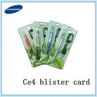 Ego ce4 blister card Quit e smoking e cigarette ego ce4 kit