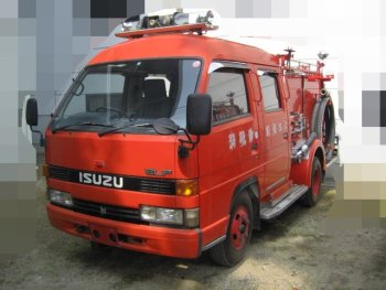 ISUZU ELF FIRE ENGINE truck