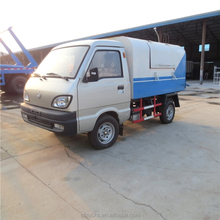 Easy operation small changan 3m3 garbage dump truck
