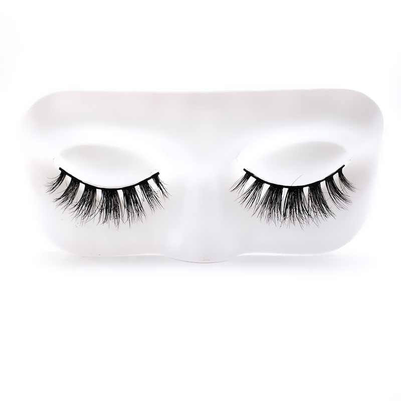 cheap silk mix <strong>flat</strong> individual silk false lashes production eyelashes