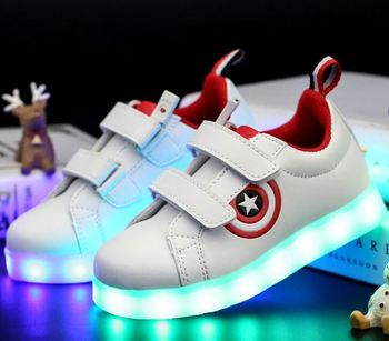 kids led shoes 2017 led shoes clip safety light for runners