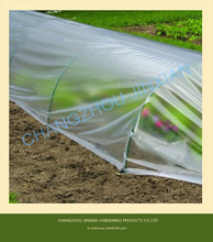 Greenhouse plastic film covers for garden