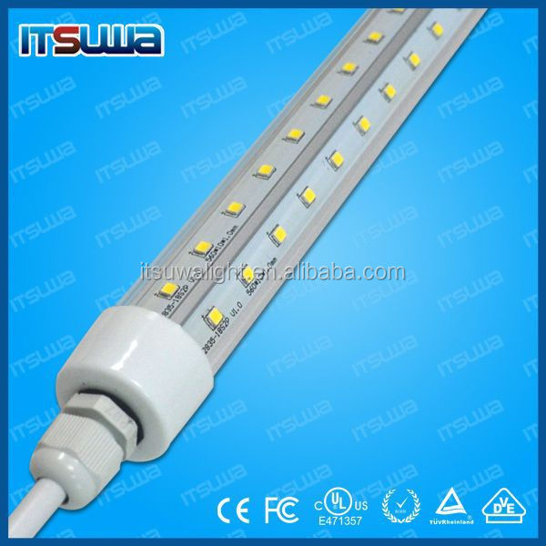 8ft T8 led tube 2400mm 36W T8 led bulb light with UL/cUL DLC listed 8ft 36W T8 led tube