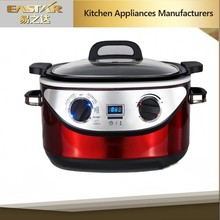 6quart 5L electric multi cooker MC-600D with slow cookers function