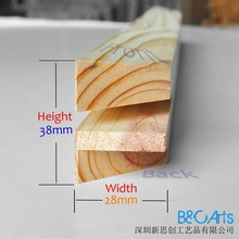 Canvas aluminium carved New inner frame wooden Stretcher bar for oil painting