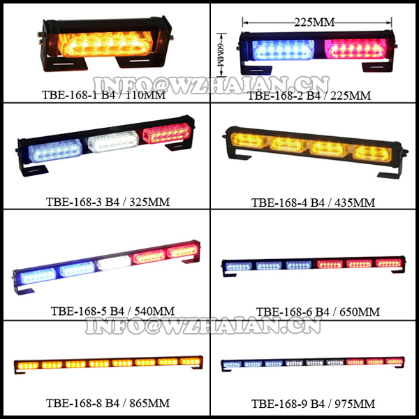High-Intensity LED Directional Arrow Lightbar light bar 37.5'' TBE-668-16C4
