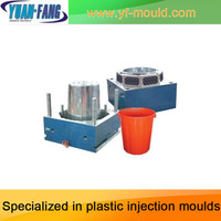 Injection plastic water barrel mould /water bucket moud/water pail mold