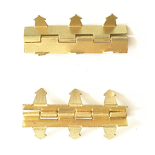 Wholesale Custom Brass Metal 6 Claw Hinges For Jewelry Boxes