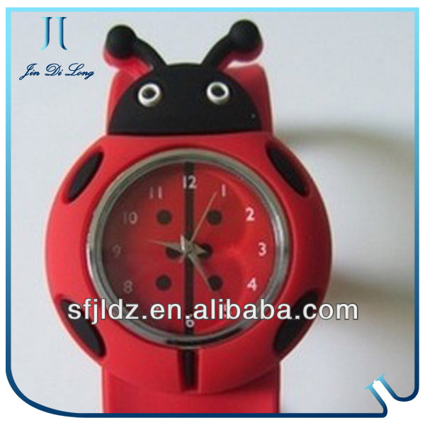 Kids Christmas Gift Watch Cheap Wholesale Kids Slap Watches Silicone