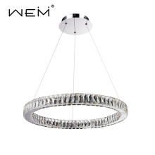 unique products 2017 crystal ceiling round lighting chandelier