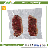 High quality and cheap price produce clear plastic food vacuum packaging bag