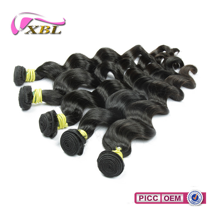 Long lasting unprocessed no shedding good feeling brazillian human hair