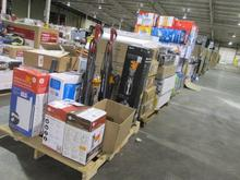 FULL TRUCKLOAD MULTI PALLET LOT INCLUDES 27 PALLETS: DYSON SELF-ADJUSTING VACUUM CLEANERS, ICE MAKERS, RANGE HOODS, INST...