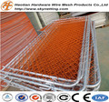 Construction Barrier / PVC Coated Chain Link Mesh Crowd Control Barrier