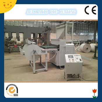 900mm*400mm patented high speed top quality auto die cutting machine