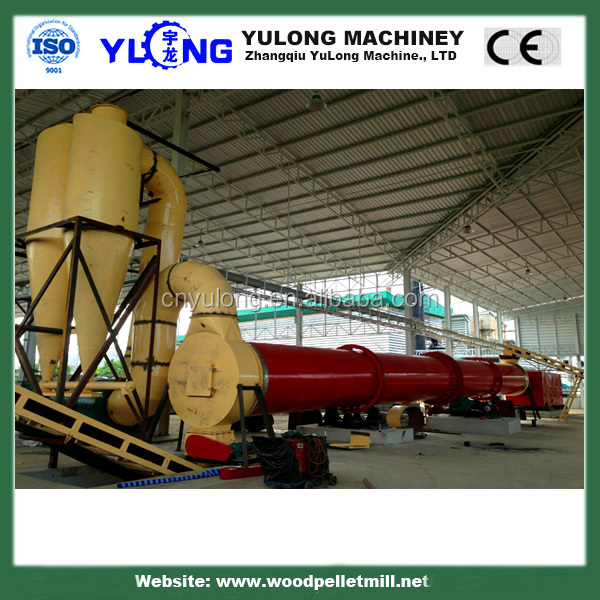 Biomass Wood Sawdust Dryer Machine / Pharmaceutical Industries Air Flow Dryer For