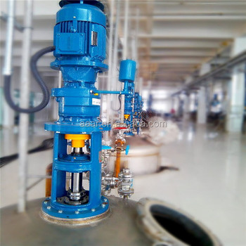 Customized Design Hot Sale Industrial Vertical Chemical Liquid Detergent Agitator Mixers