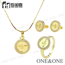 Promotion Price Fashion Brazil's Favorite Jewelry 18K Gold Plated Jewelry Set
