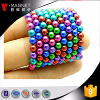 Clolored Magnetic Neo Cubes 216 Pcs