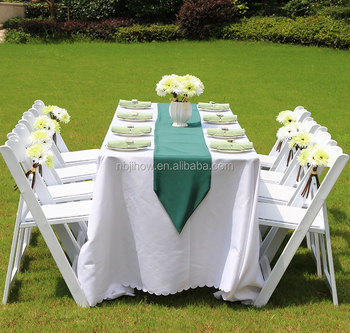 white outdoor resin wedding chair america style