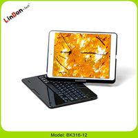 Keyboard Folio For iPad Air Folio Leather Case Bluetooth Keyboard