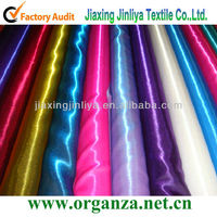 nylon/polyester twinkle satin blend fabric (Two-tone)
