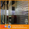 Flexible mesh curtain,atmosphere separation with curtains,decorative exterior wall