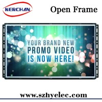 Public digital media open frame lcd panel advance display