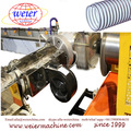 Soft PVC spiral Steel Wire Reinforced Hose extruder production Extrusion line making Machine
