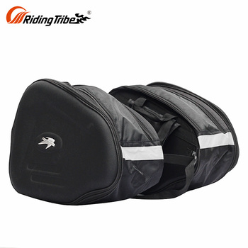 Motorbike Panniers Motorcycle Tour Trunks Bags Leather Travel Pack Saddlebags For Sale