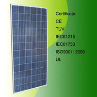 24v 260w monocrystalline solar panel /top saler in world