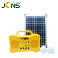china supplier mutil-functional solar power system with 2 led bulbs