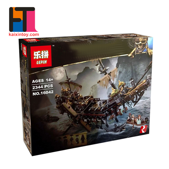 10284883 Trending Product Intelligent DIY Kids Blocks Toys Lepin Pirate