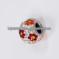 China cheap crystal shamballa beads wholesale
