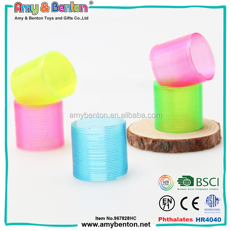 China toys wholesale novelty gifts magic rainbow slinky for kids