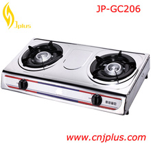 JP-GC206 Hot Selling Enamel Pan Support Gas Cooking Range