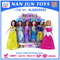 Hot Sale Single Girl Doll Barbiee Doll With Wholesale Price