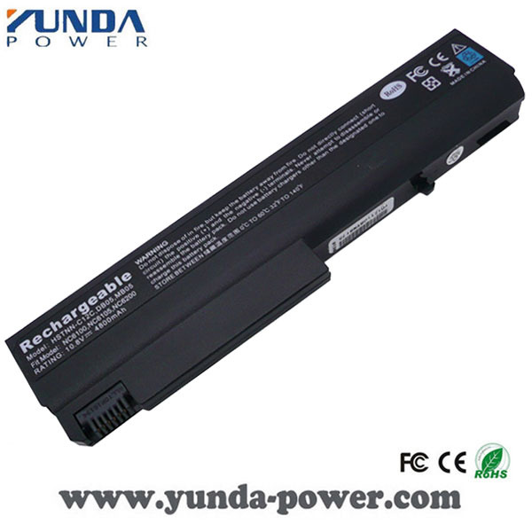 Manufacturer Laptop battery for HP NX6100 X6105 NX6110 NX6115 NX6120 NX6125